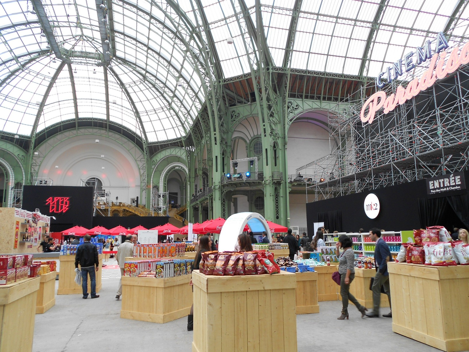 Expo on a test le cin ma paradiso au grand palais we are girlz - Grand palais expo horaires ...