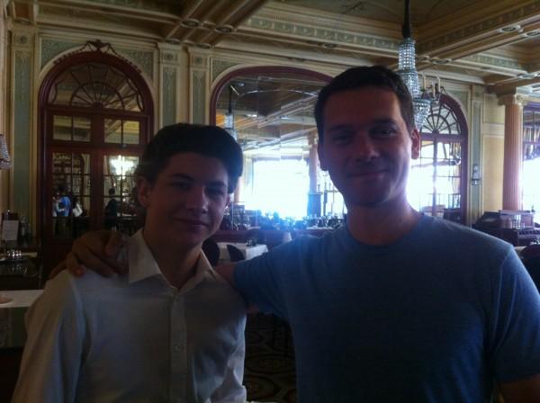 Jeremy Saulnier et Tye Sheridan