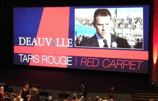 Channing Tatum Deauville 2013