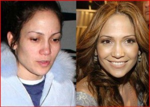jennifer lopez sans make up