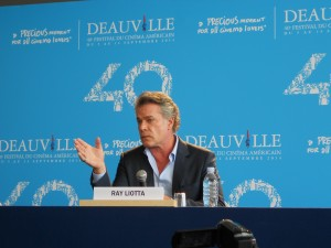 Ray Liotta Deauville 2014