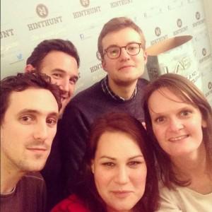 L'équipe des gagnants, selfie by @celinecrespin
