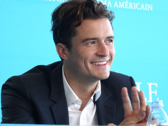 Orlando Bloom deauville 2015