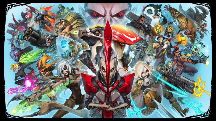 2K Battleborn Menu Tous les personnages