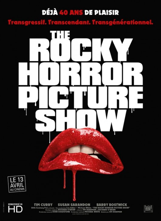 rocky horror picture show affiche