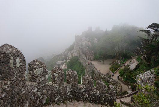 château des maures sintra portugal