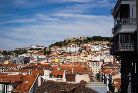 lisbonne afalma vue portugal