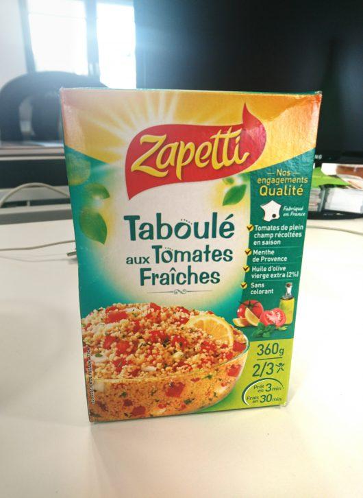 Zapetti taboulet tomates