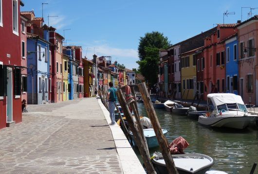 Burano italie Venise