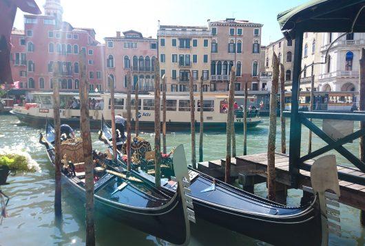 venise grand canal italie gondoles