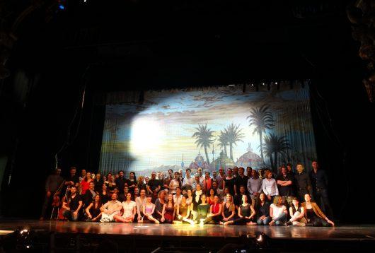 troupe fantôme de l'opéra