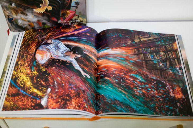Livre Harry Potter Les Editions Illustrees Par Jim Kay