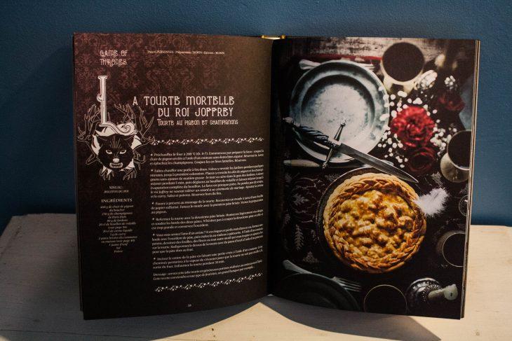 food nouveau livre de cuisine gastronogeek sp cial s ries cultes. Black Bedroom Furniture Sets. Home Design Ideas