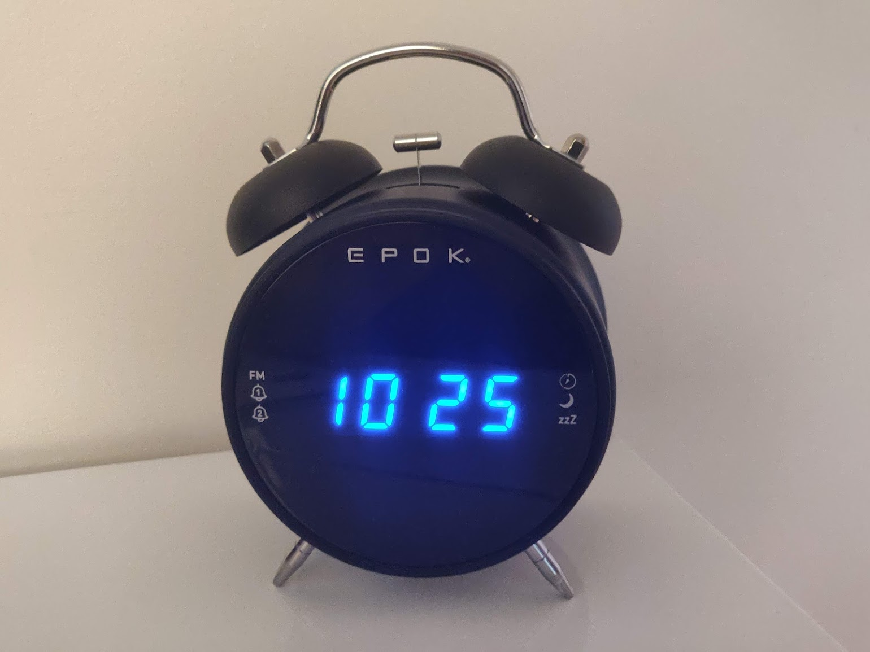 Le Radio Réveil EPOK de chez BIGBEN : Test & Avis