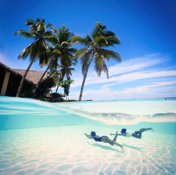 photo d'une île paradisiaque